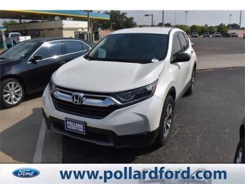 2018 Honda CR-V for sale at South Plains Autoplex by RANDY BUCHANAN in Lubbock TX