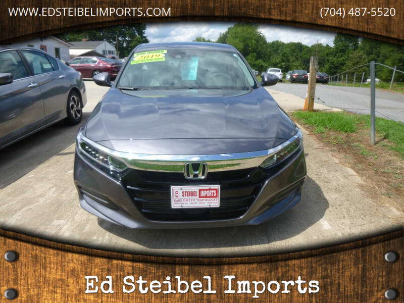 2019 Honda Accord for sale at Ed Steibel Imports in Shelby NC