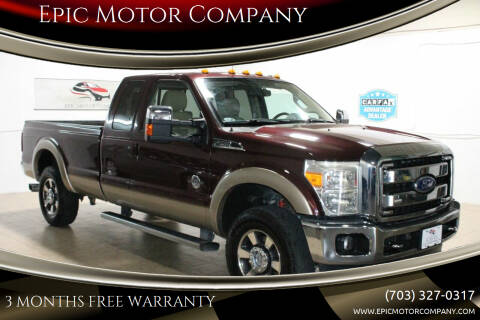 2011 Ford F-250 Super Duty for sale at Epic Motor Company in Chantilly VA