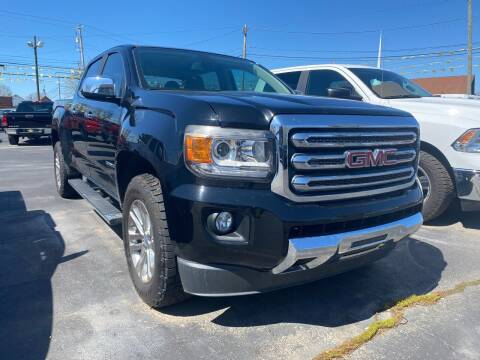 2015 GMC Canyon for sale at Auto Exchange in The Plains OH