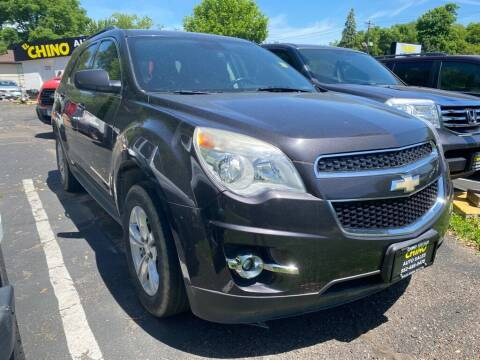 2013 Chevrolet Equinox for sale at Chinos Auto Sales in Crystal MN