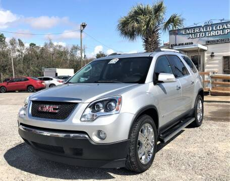 2010 GMC Acadia for sale at Emerald Coast Auto Group LLC in Pensacola FL