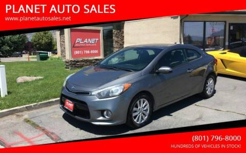 2014 Kia Forte Koup for sale at PLANET AUTO SALES in Lindon UT