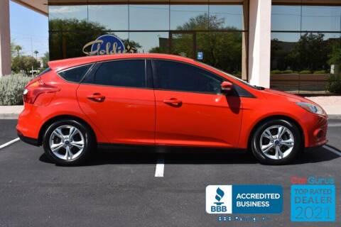 2014 Ford Focus for sale at GOLDIES MOTORS in Phoenix AZ