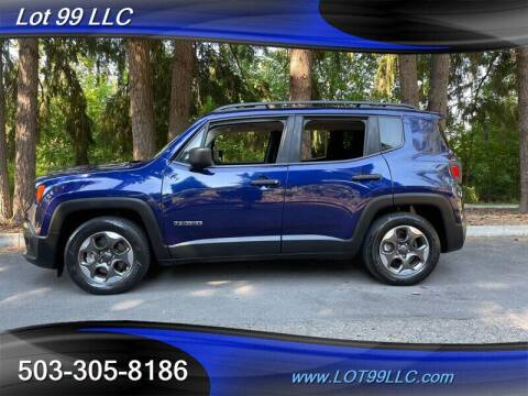 2016 Jeep Renegade for sale at LOT 99 LLC in Milwaukie OR