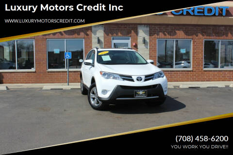 2015 Toyota RAV4 for sale at Luxury Motors Credit Inc in Bridgeview IL