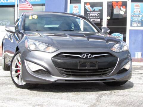 2014 Hyundai Genesis Coupe for sale at VIP AUTO ENTERPRISE INC. in Orlando FL