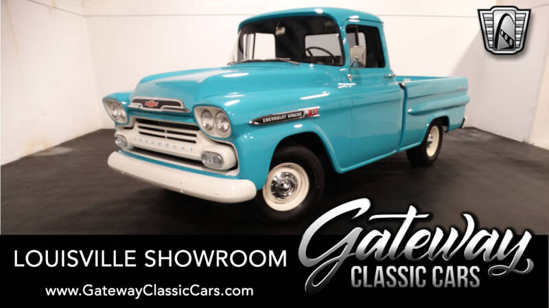 1959 Chevrolet Apache for sale in Memphis, IN