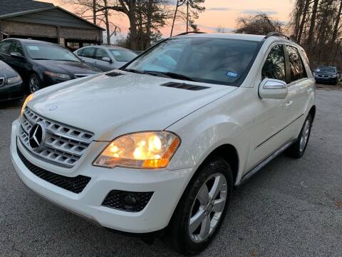 2010 Mercedes-Benz M-Class for sale at Philip Motors Inc in Snellville GA