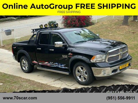 2014 RAM Ram Pickup 1500 for sale at Online AutoGroup FREE SHIPPING in Riverside CA