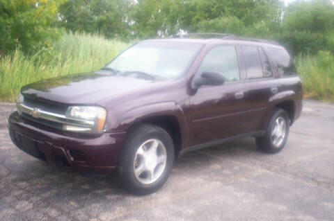 2008 Chevrolet TrailBlazer for sale at Action Auto Wholesale - 30521 Euclid Ave. in Willowick OH