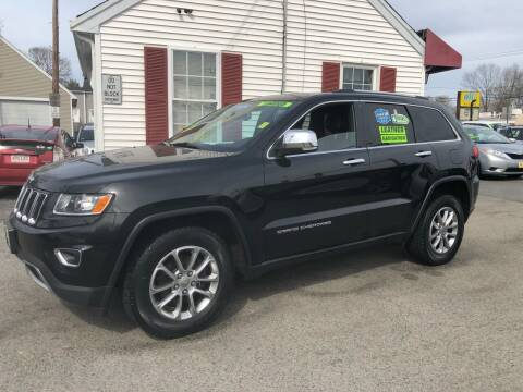 2015 Jeep Grand Cherokee for sale at Crown Auto Sales in Abington MA