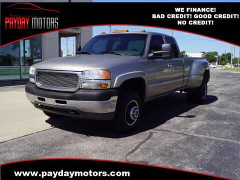 2001 GMC Sierra 3500 for sale at Payday Motors in Wichita KS