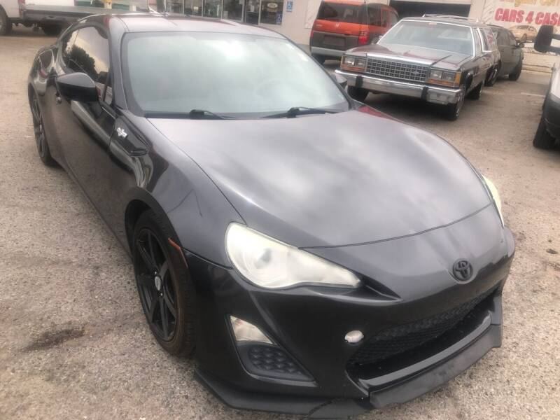 2013 Scion FR-S for sale at Fiesta Motors Inc in Las Cruces NM