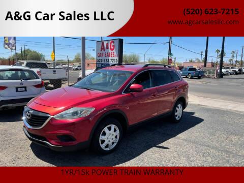 2013 Mazda CX-9 for sale at A&G Car Sales  LLC in Tucson AZ