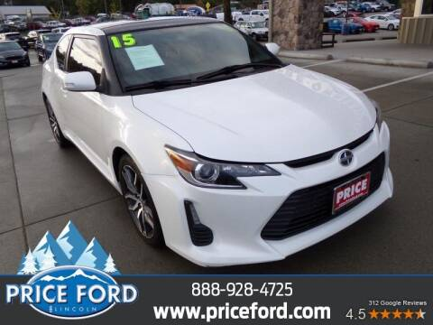 2015 Scion tC for sale at Price Ford Lincoln in Port Angeles WA