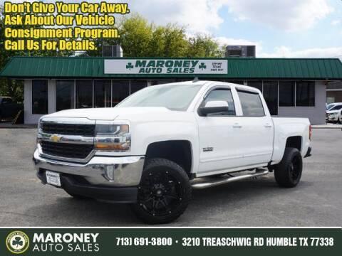 2016 Chevrolet Silverado 1500 for sale at Maroney Auto Sales in Humble TX