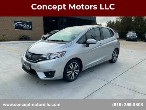 2015 Honda Fit for sale at Concept Motors LLC in Holland MI