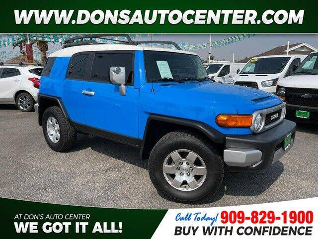 2007 Toyota FJ Cruiser for sale at Dons Auto Center in Fontana CA