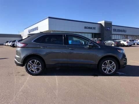 2017 Ford Edge for sale at Schulte Subaru in Sioux Falls SD
