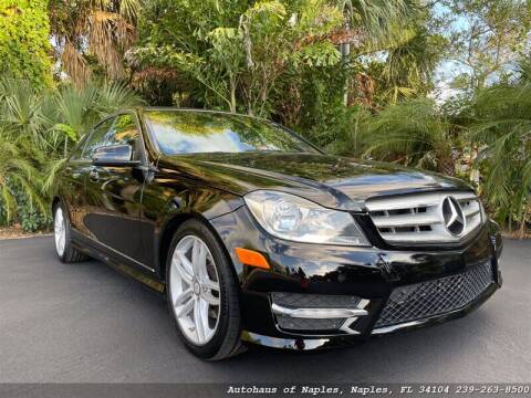 2012 Mercedes-Benz C-Class for sale at Autohaus of Naples in Naples FL