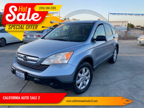2007 Honda CR-V for sale at CALIFORNIA AUTO SALE 2 in Livingston CA