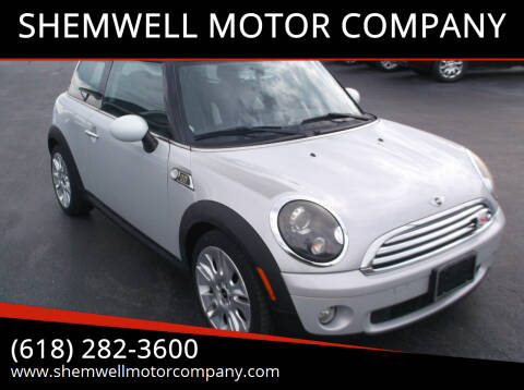 2010 MINI Cooper for sale at SHEMWELL MOTOR COMPANY in Red Bud IL