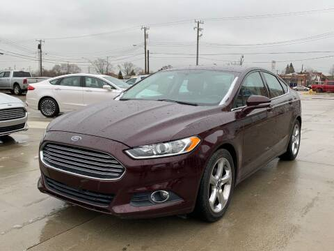 2013 Ford Fusion for sale at Crooza in Dearborn MI