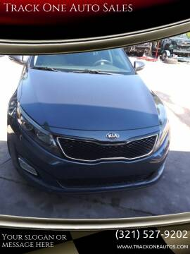 2015 Kia Optima for sale at Track One Auto Sales in Orlando FL