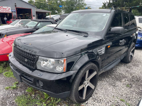 2007 Land Rover Range Rover Sport for sale at Trocci's Auto Sales in West Pittsburg PA
