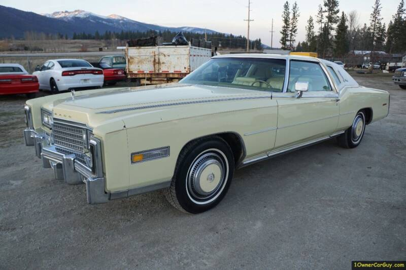 1978 Cadillac Eldorado Biarritz for sale at 1 Owner Car Guy in Stevensville MT