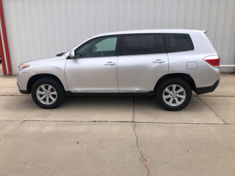 2013 Toyota Highlander for sale at WESTERN MOTOR COMPANY in Hobbs NM