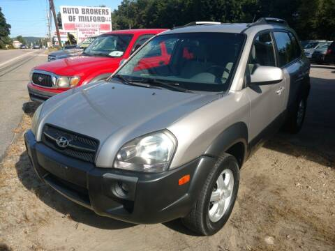2005 Hyundai Tucson for sale at Auto Brokers of Milford in Milford NH