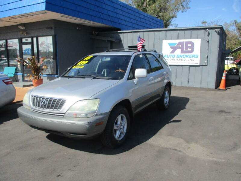 2003 Lexus RX 300 for sale at AUTO BROKERS OF ORLANDO in Orlando FL