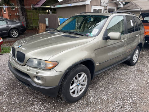 2006 BMW X5 for sale at Trocci's Auto Sales in West Pittsburg PA