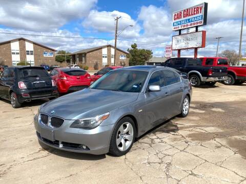2006 BMW 5 Series for sale at Car Gallery in Oklahoma City OK