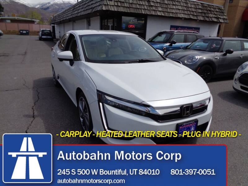2018 Honda Clarity Plug-In Hybrid for sale at Autobahn Motors Corp in Bountiful UT