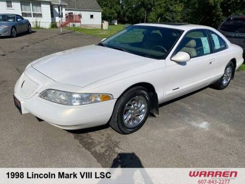 1998 Lincoln Mark VIII for sale at Warren Auto Sales in Oxford NY