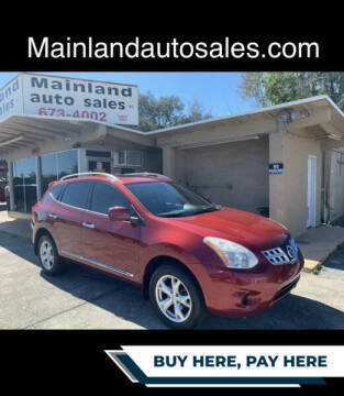 2011 Nissan Rogue for sale at Mainland Auto Sales Inc in Daytona Beach FL
