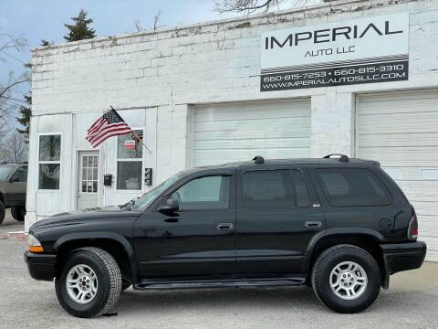 2002 Dodge Durango for sale at Imperial Auto, LLC in Marshall MO