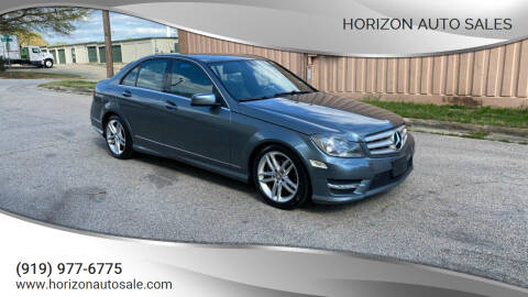 2012 Mercedes-Benz C-Class for sale at Horizon Auto Sales in Raleigh NC