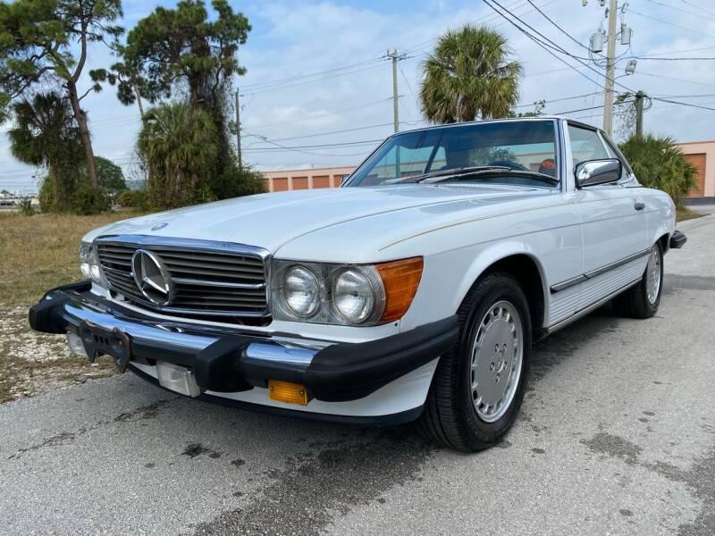 1986 Mercedes-Benz 560-Class for sale at American Classics Autotrader LLC in Pompano Beach FL