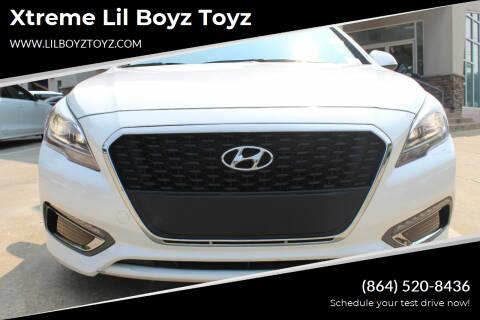 2016 Hyundai Sonata Hybrid for sale at Xtreme Lil Boyz Toyz in Greenville SC