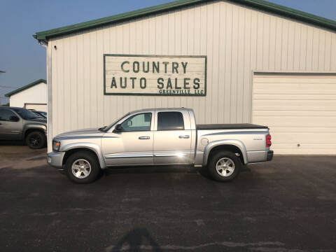 2008 Dodge Dakota for sale at COUNTRY AUTO SALES LLC in Greenville OH