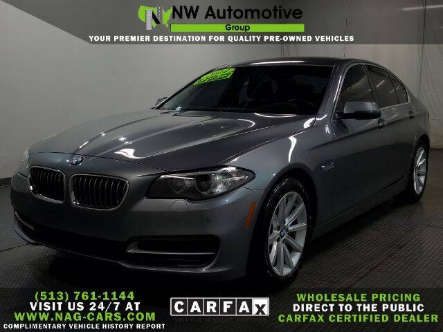 2014 BMW 5 Series for sale at NW Automotive Group in Cincinnati OH