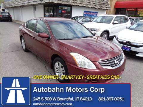 2012 Nissan Altima for sale at Autobahn Motors Corp in Bountiful UT