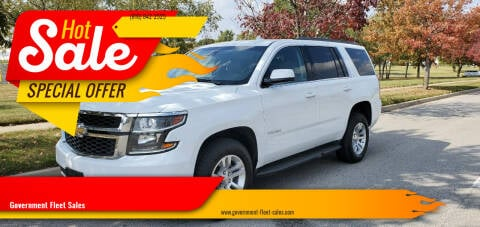2016 Chevrolet Tahoe for sale at Government Fleet Sales in Kansas City MO