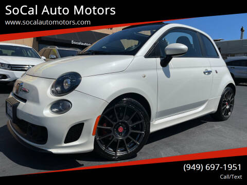 2016 FIAT 500c for sale at SoCal Auto Motors in Costa Mesa CA