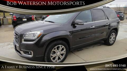 2016 GMC Acadia for sale at Bob Waterson Motorsports in South Elgin IL