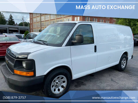 2011 Chevrolet Express Cargo for sale at Mass Auto Exchange in Framingham MA